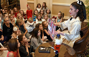 Cookies and Tea with Clara from The Nutcracker