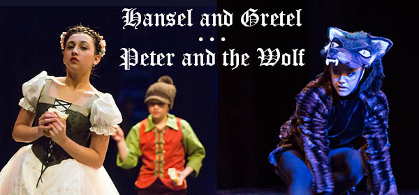 The Stories of Peter and the Wolf & Hansel and Gretel